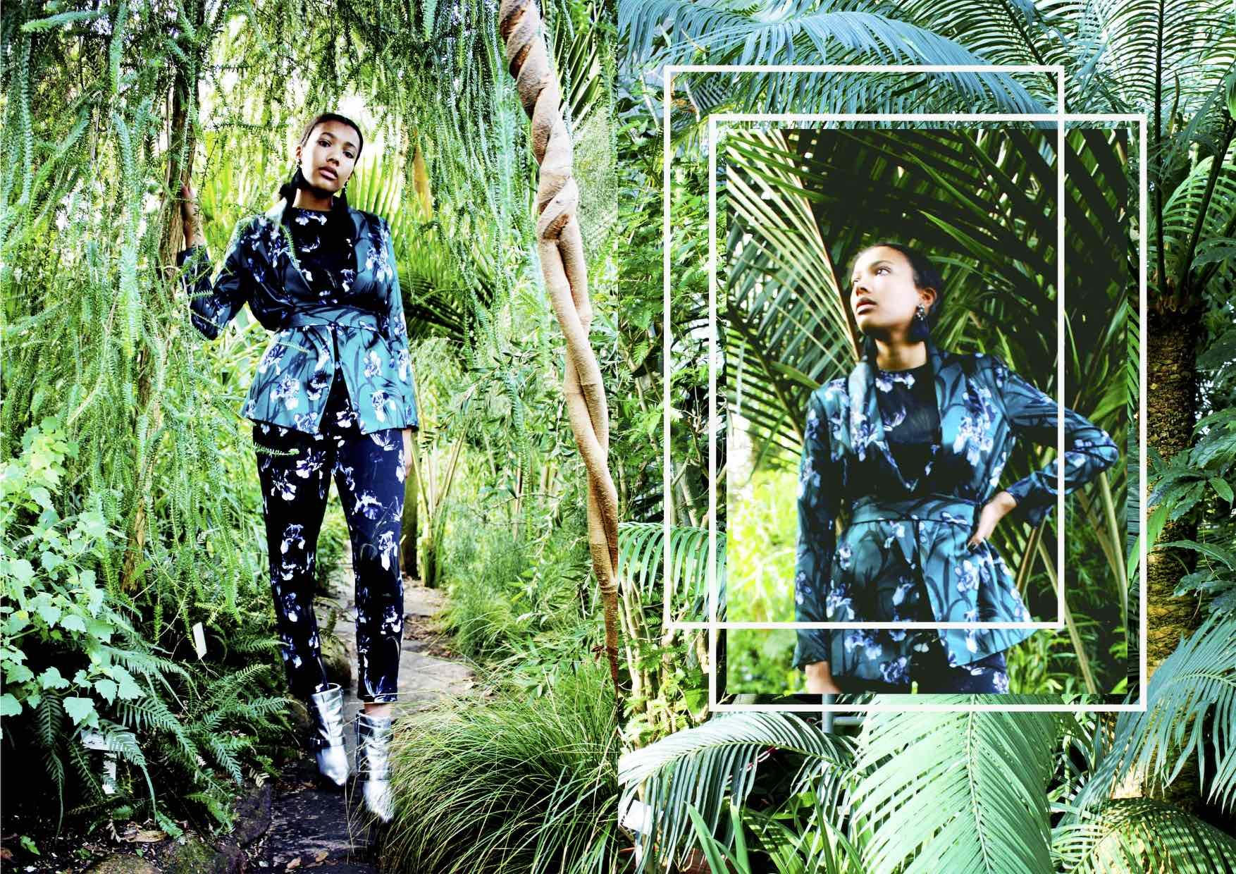 Botanic Dream Fashion Editorial FAB L'Style