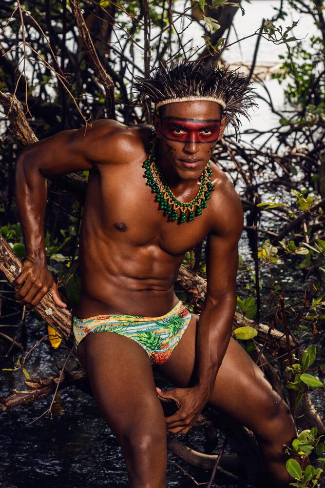 Brazilian Fashion Designer Josh Santana, a Brazilian Fashion Designer adding his own unique splash of color to European fashion