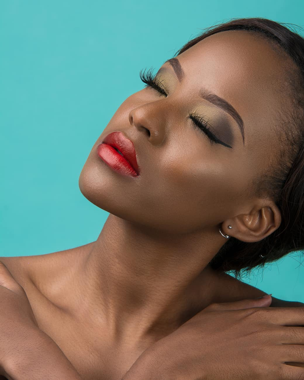 Kenyan Make-up Brand women lipstick Pauline Cosmetic